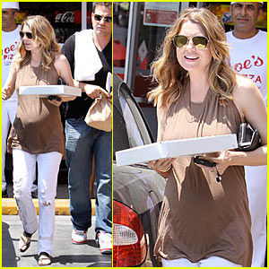 Ellen Pompeo: Pizza Pregnancy