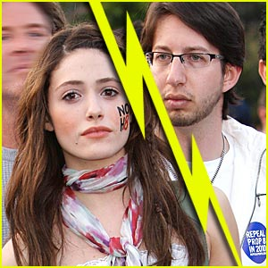 Emmy Rossum Splits From Justin Siegel?