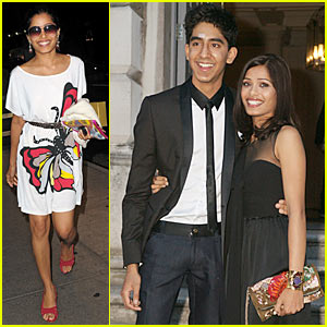 Freida Pinto & Dev Patel: Film4 Summer Screen Couple