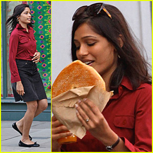 Freida Pinto Gets Excited About Her Engagement | Freida ...