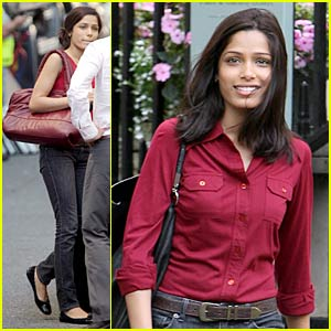 Freida Pinto is Woody Allen Wonderful