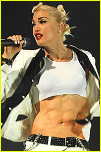 Gwen Stefani: Abs of Steel