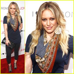 Hilary Duff Hearts Ronson