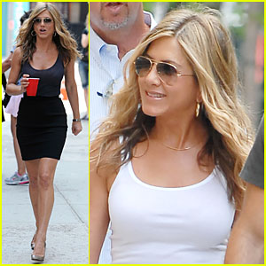 Jennifer Aniston: Back on The Bounty