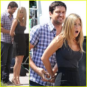 Jennifer Aniston is a Handcuffed Hottie