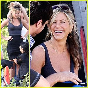 Jennifer Aniston Smiles Sweetly