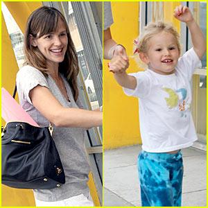 Jennifer Garner: Child Success With Violet Affleck