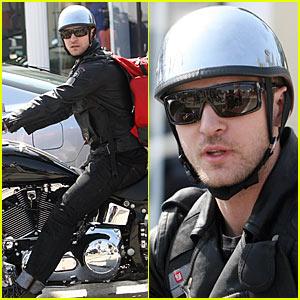 Justin Timberlake is a Motorcycle Man