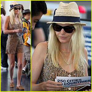 Kate Bosworth: Straw Hat Hottie