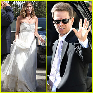 Mark Wahlberg: Wedding Pictures!