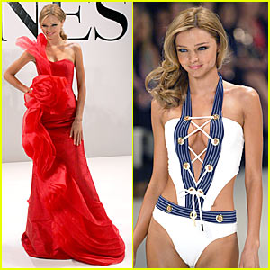 Miranda Kerr Hits David Jones Runway