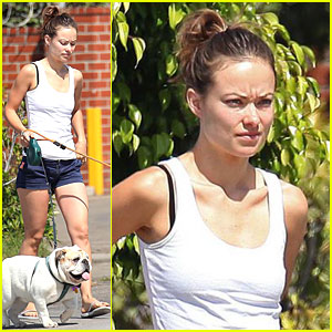 Olivia Wilde Has Pooch Passion