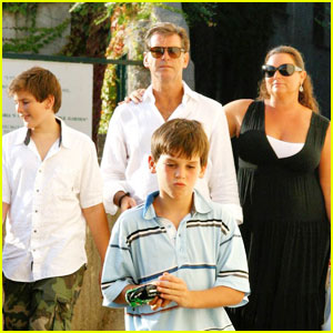 Pierce Brosnan & Family: Ravello Relatives