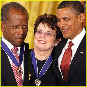 President Obama Honors Billie Jean King