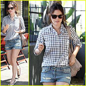Rachel Bilson: Studded Denim Sweetheart