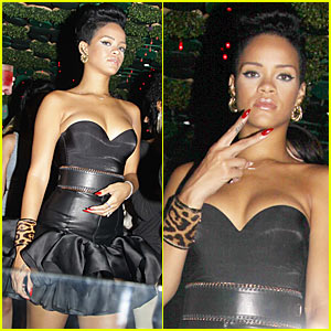Rihanna is Greenhouse Girl