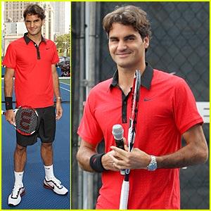 Roger Federer Debuts U.S. Open Look