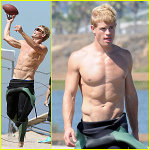Trevor Donovan: Shirtless Surrogate