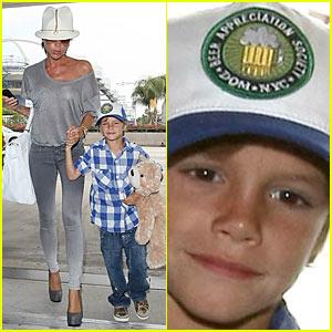Victoria Beckham's Son Romeo Appreciates Beer