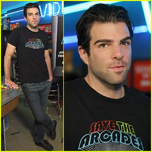 Zachary Quinto Saves The Arcades