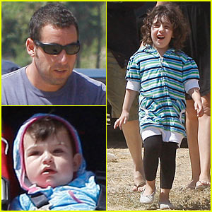 Adam Sandler: Labor Day Family Fun | Adam Sandler, Celebrity Babies
