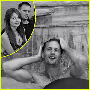 Alexander Skarsgard & Willa Holland: Straw Dog Sexy