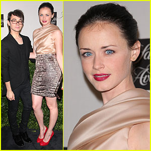 Alexis Bledel: In and Around Christian Siriano