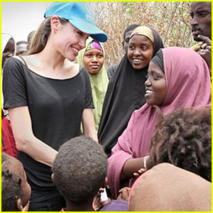 Angelina Jolie Visits Somali Refugees in Kenya