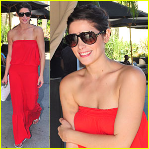 Ashley Greene is Red Hot