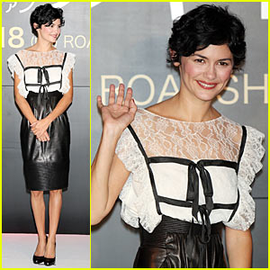 Audrey Tautou Brings Coco Chanel To Japan