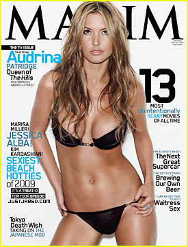 Audrina Patridge Covers 'Maxim' October 2009