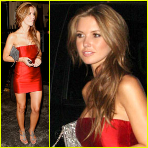 Audrina Patridge is Radiant In Red