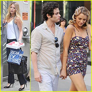 Blake Lively & Penn Badgley: Empire Hotel Hotties