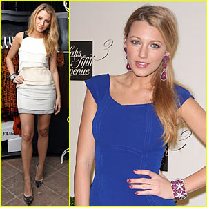 Blake Lively: Saks Fifth Avenue Sexy