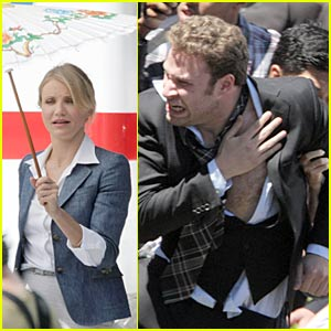 Cameron Diaz: First 'Green Hornet' Set Pictures!