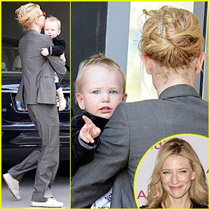 Cate Blanchett: Back To Work I Go!