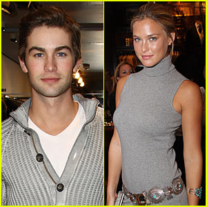 Chace Crawford & Bar Refaeli Couple Up -- JustJared.com Exclusive