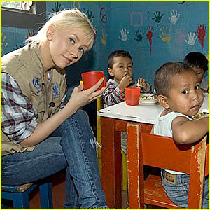 Christina Aguilera Visits Guatemala With WFP