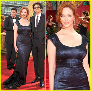 Christina Hendricks - Emmy Awards 2009