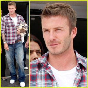 David Beckham is a Generous Gentleman