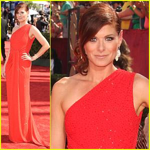 Debra Messing - Emmy Awards 2009