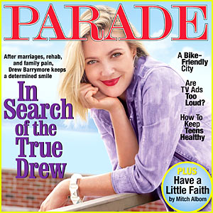 Drew Barrymore Parades To Find 'True Drew'