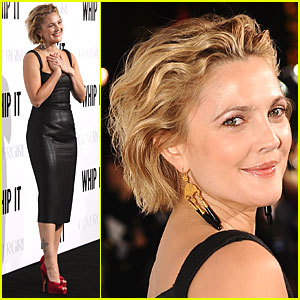 Drew Barrymore Whips Up a Premiere