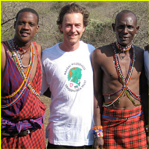 Edward Norton Training For New York Marathon