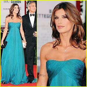 George Clooney & Elisabetta Canalis: Red Carpet Ready