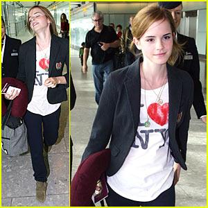 Emma Watson: I Love New York!!!