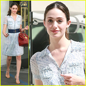 Emmy Rossum Shops Dior & Juicy Couture