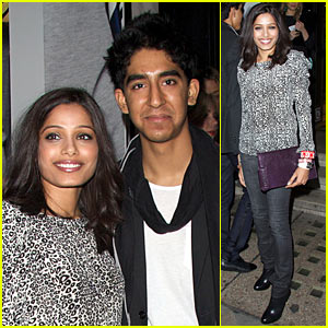 Freida Pinto & Dev Patel: Liberty Lovers