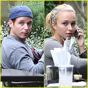 Hayden Panettiere Denies Dating Kevin Connolly - JustJared.com Exclusive
