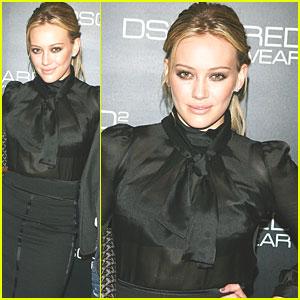 Hilary Duff Gets Dsquared2